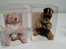 Hermann Bears Ornaments Limited Edition Only 2000 Made Free Shipping