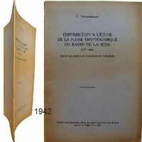 Contribution Flore cryptogamique bassin Seine 1942 Viennot-Bourgin mycologie
