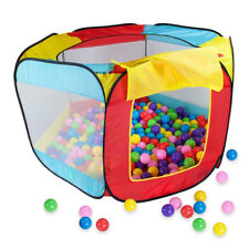 Indoor Easy Folding Kids Baby Children Game Play Toy Tent Ocean Ball Pit Pool UK