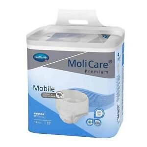 Molicare Premium Mobile 6 Gouttes Taille XL (Extra Large) 4 x14 = 56 Pièce (1