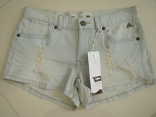 BNWT Mossimo  Ladies Cheeky Distress Stretch  Shorts   Size: 14
