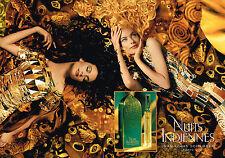 PUBLICITE ADVERTISING 035  1994  JEAN-LOUIS SCHERRER parfum NUITS INDIENNES (2 p