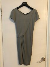 EMPORIO ARMANI Grey Dress in T-Shirt Style great with tights for winter.