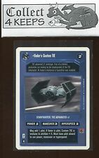 Star Wars CCG Premiere Unlimited WB: Vader's Custom TIE (SWCCG) *B*
