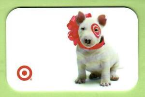 TARGET Bullseye Wearing Red Bow 2003 Gift Card ( $0 )