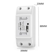 New ListingSmart WiFi Switch Dimmer Wireless Remote Control Switch for Smart Home BreaP74