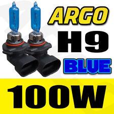 H9 XENON ICE BLUE 100W BULBS MAIN HIGH BEAM 12V HEADLIGHT HEADLAMP HID LIGHT X2
