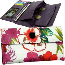 Burton Flowers/Plant/Grasses/Multicolour Ladies Purse - Wallet Purse NEW