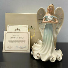 Lenox An Angel's Prayer Figurine Angel with White Dove Mint in Box with Coa