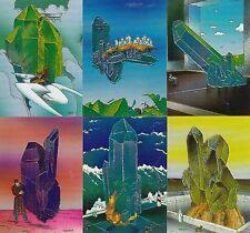 Moebius Collector Cards 1992 Comic Images Chromium Insert Card Set C1 To C6 Fa