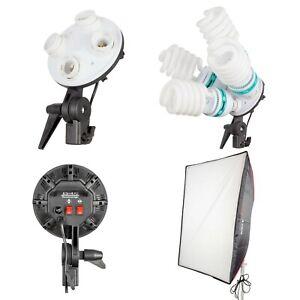 Continuous Fluorescent Daylight Balanced Cool Running Lighting Single Head 2100W
