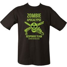 ZOMBIE APOCALYPSE T-SHIRT 100% COTTON MENS S-2XL GAMING CLOTHING TOP