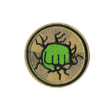 HULK FIST Iron on / Sew on Patch Embroidered Badge Motif Comic Cosplay PT487