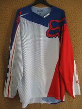 Maillot Motocross Rider Moto Racing cross FOX Vintage polyester Jersey - XL