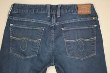 Lucky Brand Lola Ankle Boot Cut Jeans Women's Size 2 / 26 Dark Wash Denim