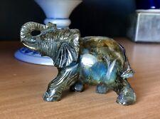 Boulder Opal Elephant..1076.9cts..Hand Carved