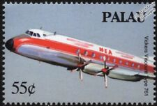 Middle East Airlines (MEA) VICKERS VISCOUNT Type 761 Airliner Aircraft Stamp