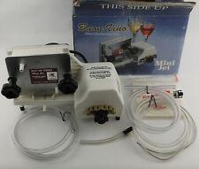 Buon Vino Mini Jet Electric Wine Filter Filtration Pump w/ #2 Polishing Filters