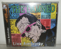 2 CD THE DAMNED - LIVE ANTHOLOGY - NUOVO NEW