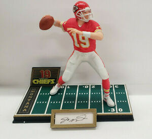 Joe Montana Kansas City Chiefs Autograph Auto Sports Impressions Statue #d/1500