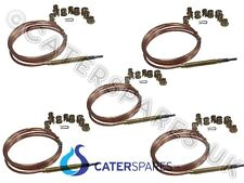 BULK BUY 5 X SUPER UNIVERSAL THERMOCOUPLE FRYERS / RANGES / GRILLS PARTS X 5