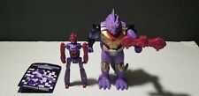 Hasbro Transformers Pretenders Decepticon Iguanus 1988 Robot Figure PRE-OWNED