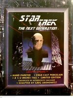 STAR TREK The Next Generation 1996 Locutus Of Borg LIMITED EDITION Bust