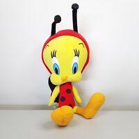 "RARE Ladybird Tweety Pie Bird Plush Toy Warner Brothers Looney Tunes 32cm 12.5"""