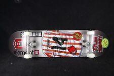 Skateboard Complete Sk8mafia SAF Titanium Trucks Spitfire Element Santa Cruz