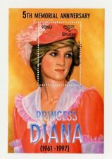 SPECIAL LOT Bhutan 2003 - Princess Diana - 25 Souvenir sheets - MNH