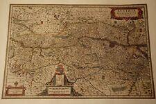 Historische Landkarte Austria Budweis Drosendorf Steyr Salztal Graz Krems 1658