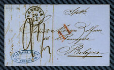 -= Lettre de VENISE (Lombardie-Vénétie) pour BOLOGNE (Italie) - 1864 =-