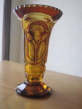Kristall Vase aus Bernstein