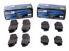Hawk Street HPS Brake Pads (Front & Rear Set) for 09-17 Nissan R35 GTR GT-R