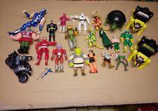 Konvolut Action Figuren Spielzeug Power Ranger He Man Batman Turtle 80er 90er