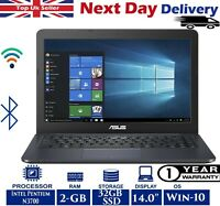 ASUS Eeebook E402S 14-inch Laptop Intel Pentium 1.60Ghz 2GB RAM 32GB SSD Win-10