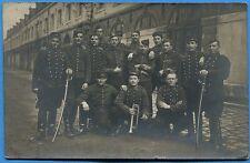 CPA PHOTO: Soldats du 19° Régiment de Chasseurs à cheval / 1907