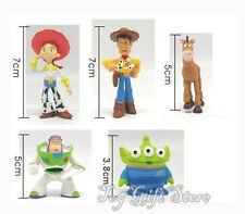 5pcs / Set Toy Story 3 Woody Jessie Buzz Lightyear Figures
