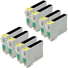 8 NEGROS T0711 T0891 COMPATIBLE NON OEM PARA IMPRESORAS EPSON STYLUS D92 DX4000