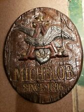 Vintage Michelob plaster sign beautiful