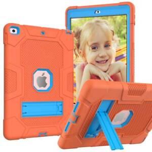For iPad 5th 6th 7th 8th Gen 10.2 9.7 Mini 5 Hybrid Shockproof Rugged Hard Case