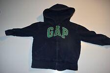Baby Gap Zip Front Logo Hoodie  Size 12-18 months