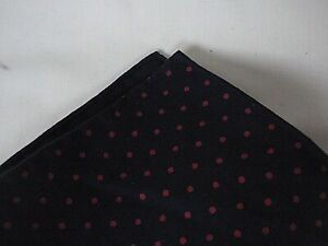 NEW WITH TAGS Ralph Lauren RRL Collection Hand Rolled Blue Pocket Square RRP £85