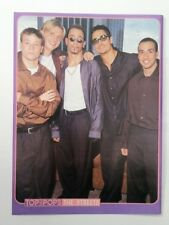 BACKSTREET BOYS 'Streets' magazine PHOTO/Poster/clipping 11x8 inches