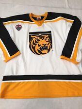 New Colorado College Hockey Jersey Tigers Nchc Xxl