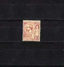 MONACO   prince  Albert 1er  10c  lilas-brun      de 1891/94   num: 14  *