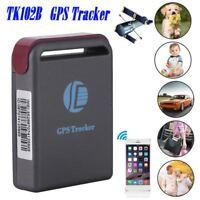 GPS TRACKER Vehicle Tracking GSM GPRS Car Realtime Mini Device System Pet TK102B
