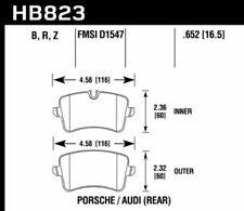 Hawk HPS 5.0 Rear Brake Pads For 11-17 Audi / Porsche #HB823B.652