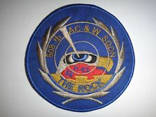 """US Air Force 608th AIRCRAFT CONTROL &WARNING Squadron """"THE ROCK"""" Patch"""