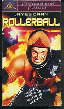 Rollerball (VHS Contemporary Classics) James Caan Scifi Classic!